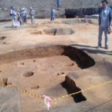 『5月21日 石川3遺跡見学会に約350人が参加』の画像