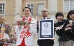 1匹200万円!鳥取の松葉ガニがギネスに認定される(海外の反応)