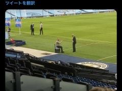 【画像】レアル・ジダン監督、試合終了後にマンCペップ監督にいろいろ教得てもらう!?www