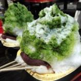 『もう食べた?法多山の夏の名物「厄除氷」が販売中!厄除けだんご+かき氷のぶっ飛んだ組み合わせ - 8月31日までの期間限定』の画像