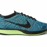 『Nike Flyknit Racer 2.0 Blue/Black/Volt』の画像