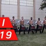 『【DCI】ドラム必見! 2019年ファントム・レジメント・ドラムライン『イリノイ州デカルブ』本番前動画です!』の画像