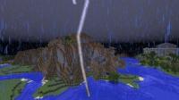 南大陸の雷山