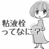 『臨月に出る粘液栓って何、どんなもの?』の画像