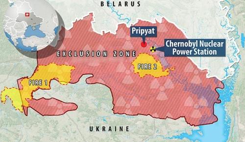 チェルノブイリ周辺で森林火災 原発にも火が迫るが奇跡の雨で原子炉はセーフか(海外の反応)