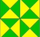 【画像】 この図形の中に三角形は何個?見つけた数が多いほど高IQ 俺は44個しか見つけられなかった
