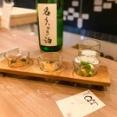 【烏丸】関西バル参加店:質の高い隠れ家日本酒バー ~日本酒BAR ○△□ (まるさんかくしかく)
