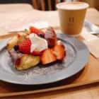 『大阪福島 PUSE CAFE の季節毎に変わるフレンチトースト』の画像
