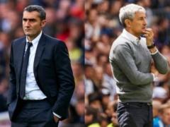 現在リーグ戦首位のバルセロナさん、監督を解任する!