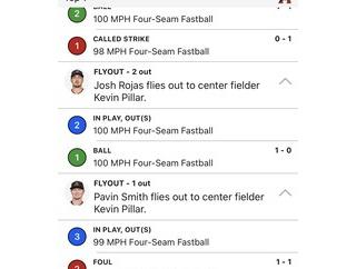 動画 MLB最強投手デグロムさん、流石におかしい。3回を投げ28球のうち25球がフォーシーム