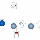 『MSLの2相水モデルを動かすとfail』の画像