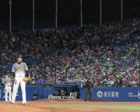 中継ぎ登板の阪神・藤浪は2回2安打1失点