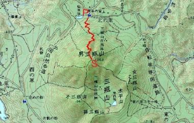 『男三瓶山(1126m)Jul.16,2019』の画像