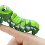 アゲハの幼虫「いもむし」が250%サイズのアクションフィギュアになってガチャに登場!