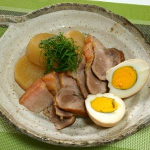 豚ちまき肉と大根の煮物