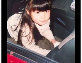 【画像】益若つばさ、7歳のころの写真がかわいいと話題にwwww