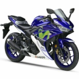 『YAMAHA YZF-R25  MotoGP 3冠記念カラーのYZF-R25限定発売』の画像