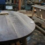 『テーブル作り・3・初雪』の画像