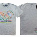 今さらですが…!? スーパーファミコンの懐かしかわいいデザインTシャツが登場!