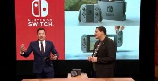 米人気番組で「Nintendo Switch」の実物を披露!『ゼルダの伝説 ブレスオブザワイルド』を生プレイ!