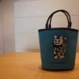 『KEITAMARUYAMA(ケイタマルヤマ)Bucket bag 招き猫』の画像