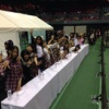広島全握の16人レーンの威圧感が凄い