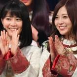 『【乃木坂46】バナナマンに手を振る白石&生田の笑顔が最高すぎるwwwwww【NHK紅白歌合戦】』の画像