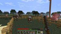 牧場で動物を仕分け