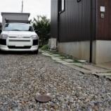 『駐車場を砂利敷にしてみる』の画像