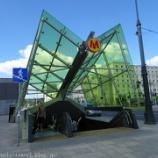 『ポーランド旅行記33 ワルシャワの地下鉄に乗ってみた』の画像