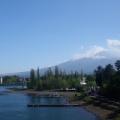 河口湖大橋からの富士