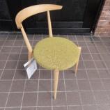 『【北欧テイスト・日進木工のテーブルとチェア2011】 Natural BrownシリーズのNBC-442チェア』の画像