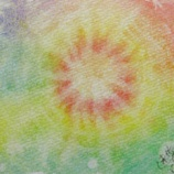 『アートセラピー日記(カラーカード)ひなたぼっこみたいなアート』の画像