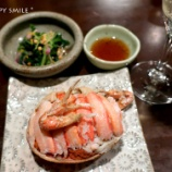 『金沢で香箱蟹を食べる旅:金沢最後の夜は風和利(香箱蟹5杯目)』の画像