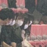 『この4人は!?欅坂2期、けやき坂3期お見立て会に先輩メンバーが観覧に来ていた模様!!!』の画像