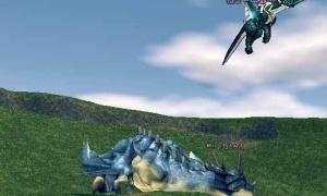 青いドラゴン、レガトゥスの変なところ発見(*゚Д゚) ムホムホ