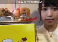 【動画】山本瑠香、誕生日配信中にケーキを落とす大事故wwww