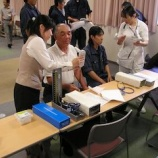 『平成23年度 第1回健康教室の開催』の画像