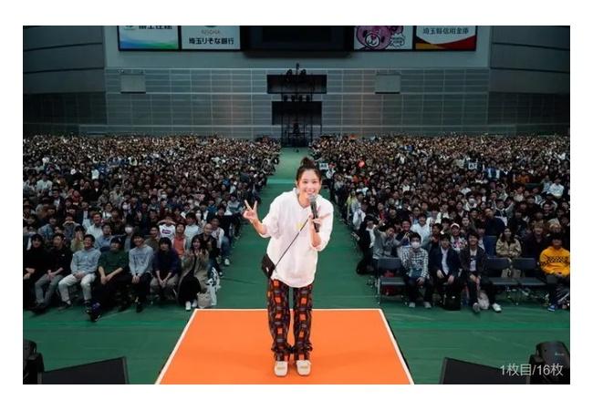 本田翼:YouTube「ほんだのばいく」イベントに1万7000人動員し大成功する