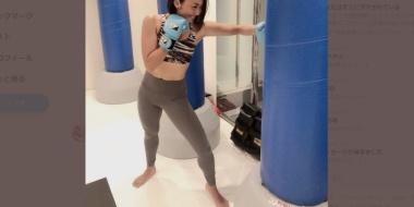 【画像】安藤美姫が、2回目のキックレッスンで早くも進化「こんなに行きたいのはスケート以来」
