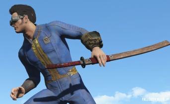 Fallout4 ケルト風の刀MOD