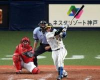 阪神 梅野がチーム初安打も…後が続かず沈黙