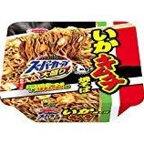 『【コンビニ:カップ麺】エースコック スーパーカップ 大盛りいかキムチ焼そば』の画像