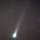 『29日早朝のラヴジョイ彗星』の画像