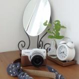 『カメラストラップやバッグを汗から守りながら、おしゃれにイメージチェンジ!』の画像