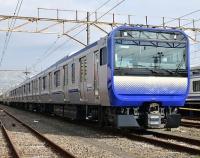 『横須賀線用のE235系1000番代 報道公開』の画像