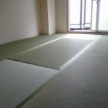 『港区市岡元町にあります賃貸マンションにモダン乱敷き畳にて畳の新調入替え〜』の画像