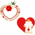 お正月飾りと鏡餅のイラスト素材