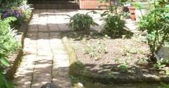 【築17年】庭の様子と種や野菜苗を植え付け&5年に一度の防蟻工事をした話【床下シロアリ点検】