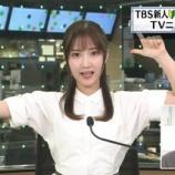 『【画像】TBSに突如現れた女子アナが過去最高レベルwwwwwwwww』の画像